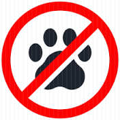 No Pets allowed in the backpacking campsites
